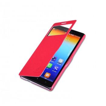 Чехол смарт флип серия Colors для Lenovo Vibe Z (K910) Красный