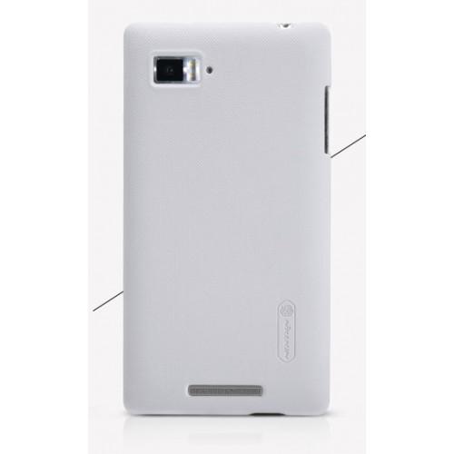 Пластиковый матовый чехол премиум для Lenovo Vibe Z (K910) Черный