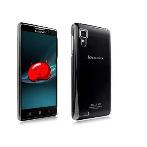 Пластиковый транспарентный чехол для Lenovo P780 Ideaphone