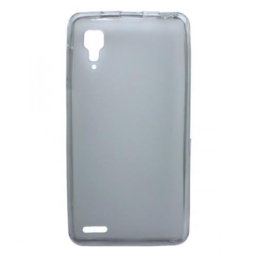 Силиконовый полупрозрачный матовый чехол для Lenovo P780 Ideaphone