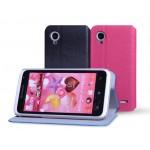 Чехол флип подставка текстурный для Lenovo IdeaPhone S720