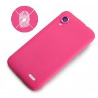 Силиконовый чехол для Lenovo IdeaPhone S720 Розовый