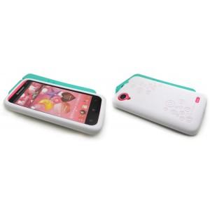 Силиконовый премиум чехол серия Circles для Lenovo IdeaPhone S720