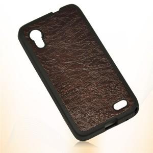 Силиконовый чехол серия Leather Thief для Lenovo IdeaPhone S720