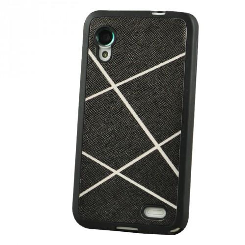 Силиконовый текстурный чехол серия Rays of light для Lenovo IdeaPhone S720