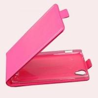 Чехол книжка вертикальная для Lenovo Vibe X S960 Розовый