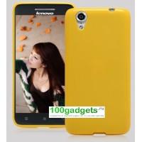 Силиконовый чехол для Lenovo Vibe X S960 Желтый