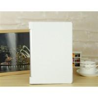 Чехол подставка с рамочной защитой и глянцевым покрытием серия Glossy Shield для Lenovo Yoga Tablet 10 Белый