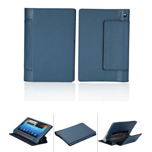 Чехол подставка с полной защитой корпуса Full Cover для Lenovo Yoga Tablet 8 Розовый
