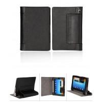Чехол подставка с полной защитой корпуса Full Cover для Lenovo Yoga Tablet 8 Черный