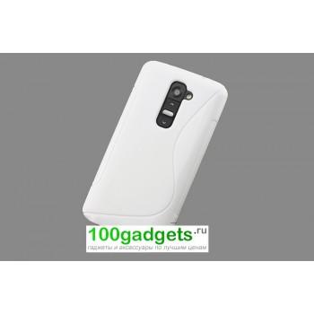 Силиконовый чехол S для LG Optimus G2 mini Белый