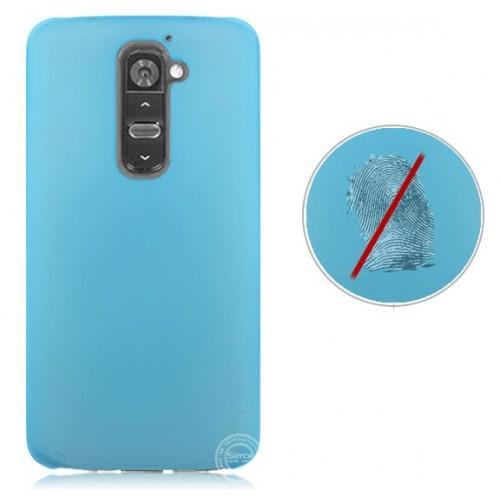 Пластиковый полупрозрачный чехол для LG Optimus G2