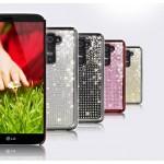Чехол пластиковый со стразами серия Total Luxury для LG Optimus G2