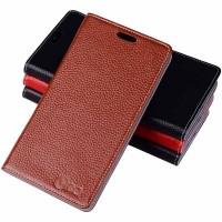 Кожаный чехол портмоне подставка (нат. кожа) для LG G Flex