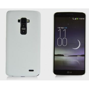 Пластиковый чехол S для LG G Flex Белый