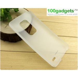 Пластиковый полупрозрачный чехол S для LG G Flex