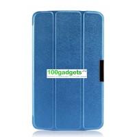 Чехол флип подставка сегментарный для LG G Pad 8.3 Синий