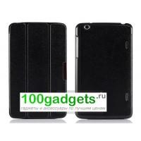 Чехол флип подставка сегментарный для LG G Pad 8.3 Черный