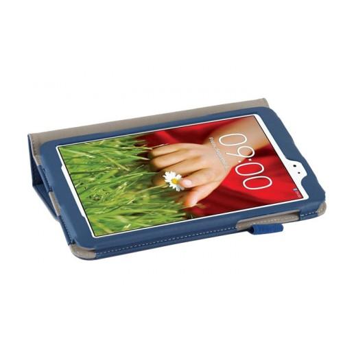 Чехол подставка с внутренними отсеками серия Full Cover для LG G Pad 8.3 Оранжевый