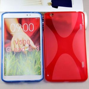 Силиконовый чехол X для LG G Pad 8.3 Красный