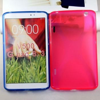 Силиконовый чехол X для LG G Pad 8.3 Розовый