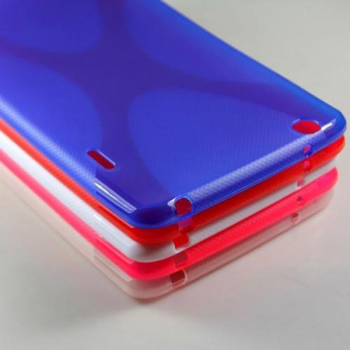 Силиконовый чехол X для LG G Pad 8.3 Белый