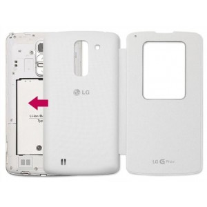 Оригинальный чехол флип NFC Quick Window для Lg G Pro 2