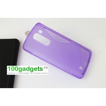 Силиконовый чехол S для LG Optimus G2 mini Фиолетовый