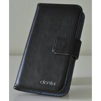 Чехол портмоне подставка для LG L90 Черный
