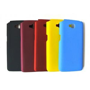 Пластиковый матовый чехол для LG G Pro Lite Dual