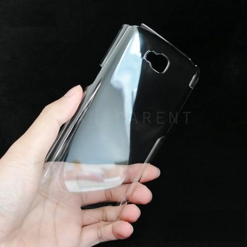 Пластиковый транспарентный чехол для LG G Pro Lite Dual