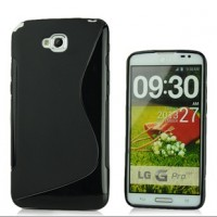 Силиконовый чехол S для LG G Pro Lite Dual Черный