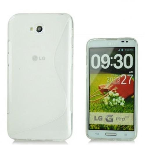 Силиконовый чехол S для LG G Pro Lite Dual