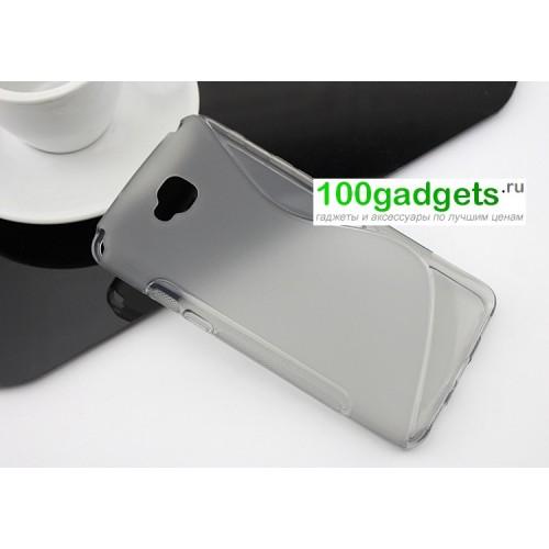 Силиконовый чехол S для LG G Pro Lite Dual Белый