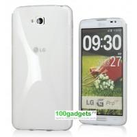 Силиконовый чехол X для LG G Pro Lite Dual Белый