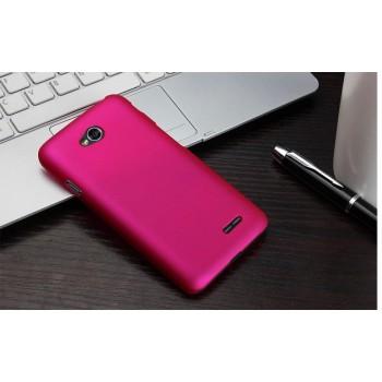 Пластиковый чехол для LG L70 Пурпурный