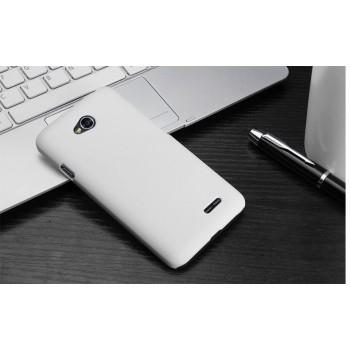Пластиковый чехол для LG L70 Белый