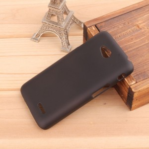 Пластиковый чехол для LG L70 Черный