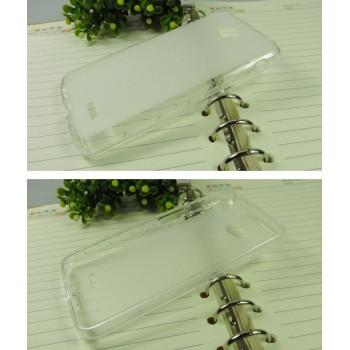 Силиконовый матовый полупрозрачный чехол для LG L70