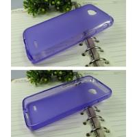 Силиконовый чехол для LG L70 Фиолетовый