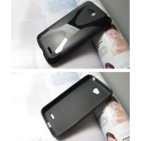 Силиконовый чехол X для LG L70 Черный