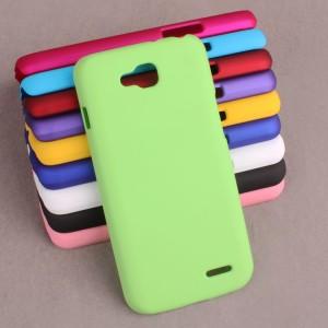 Пластиковый чехол для LG L90 Зеленый