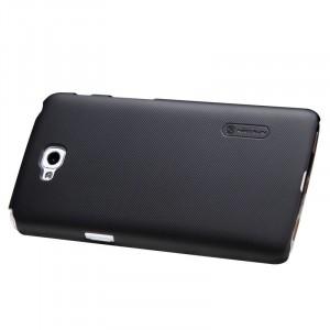 Пластиковый матовый премиум чехол для LG L90