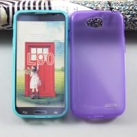 Силиконовый чехол для LG L90 Фиолетовый