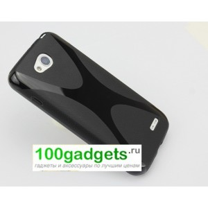 Силиконовый чехол X для LG L90