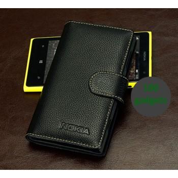 Кожаный чехол портмоне (нат. кожа) для Nokia Lumia 1020