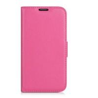 Чехол портмоне подставка для Nokia Lumia 1520 Розовый