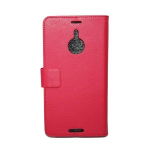 Чехол портмоне подставка для Nokia Lumia 1520 Красный