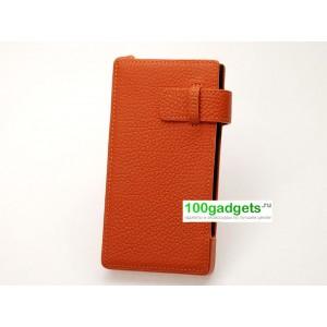 Персональный кожаный чехол разновидность Уголок для Nokia Lumia 1520
