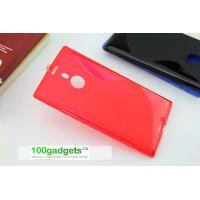 Силиконовый чехол S для Nokia Lumia 1520 Красный